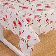 Produktbild: Wipe Clean PVC Vinyl Tablecloth Dining Kitchen flower Table Cover Protector Size 106x152cm Style 4