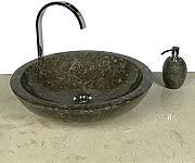 waschbecken naturstein grau g nstig online kaufen lionshome. Black Bedroom Furniture Sets. Home Design Ideas