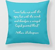 Produktbild: Yourway Square Pillow Case A Midsummer Nights Dream W Shakespeare Quote Pillow Case