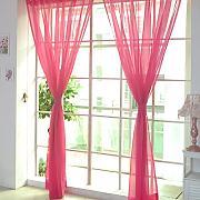 Gardinen vorh nge gardinen und vorhaenge fuer wohnzimmer for Fenster querbehang
