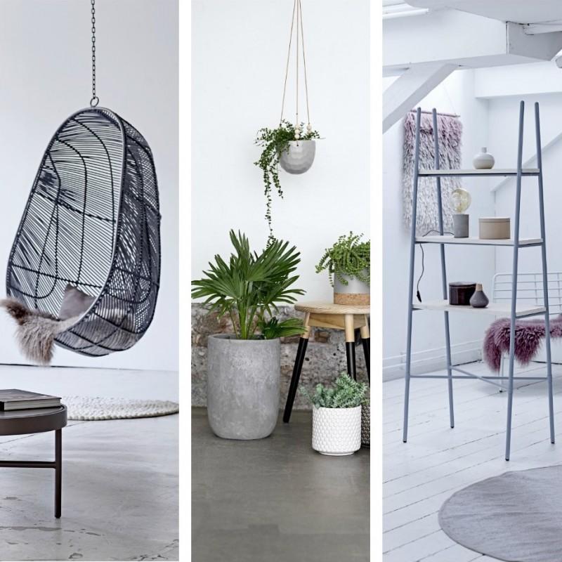 loft mit beton und klinker einrichtung, wohnen im loft | lionshome, Design ideen